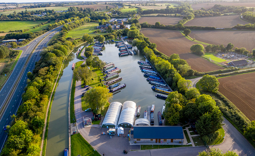 Marina Photoshoot – getting the drone out